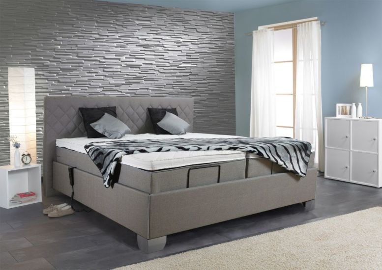 boxspringbett lord 180x200cm hellgrau sb m bel discount. Black Bedroom Furniture Sets. Home Design Ideas