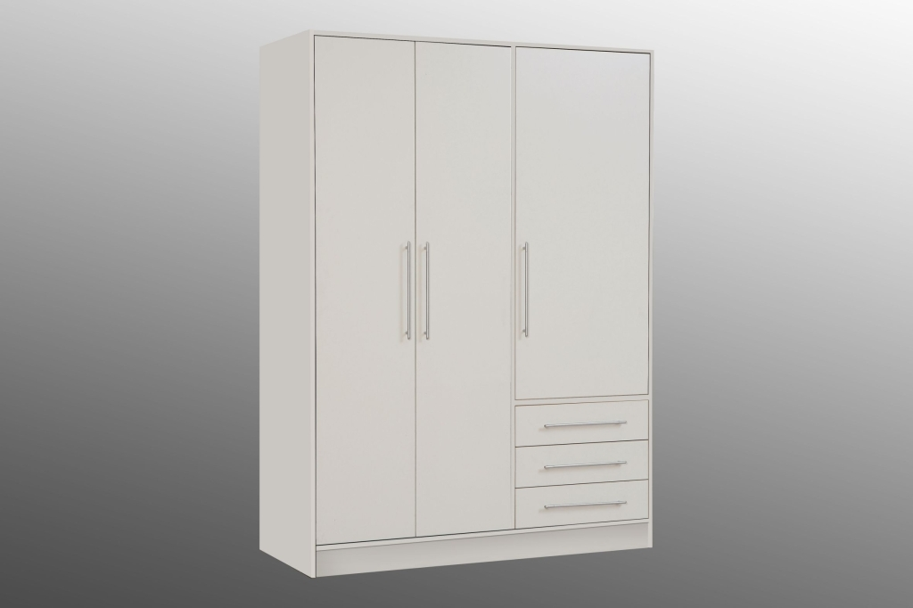 kleiderschrank jupiter weiss sb m bel discount. Black Bedroom Furniture Sets. Home Design Ideas