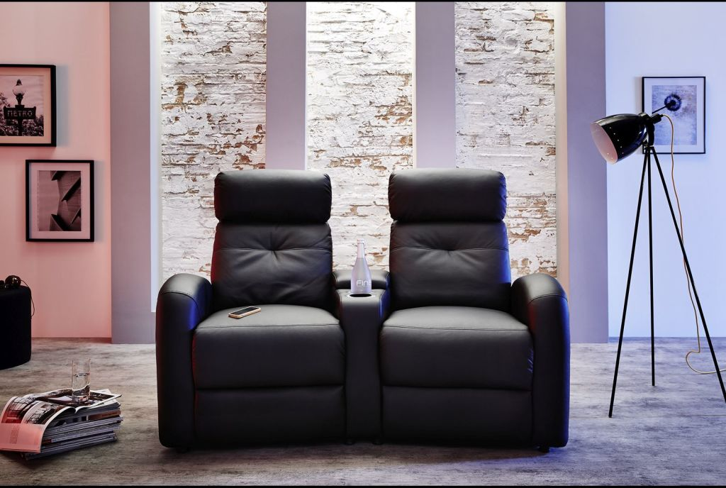 cinema sessel houston schwarz relaxfunktion elektrisch verstellbar. Black Bedroom Furniture Sets. Home Design Ideas