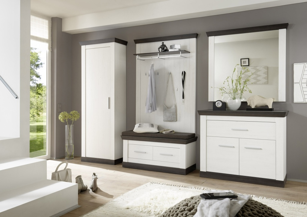garderobe siena 2 sb m bel discount. Black Bedroom Furniture Sets. Home Design Ideas