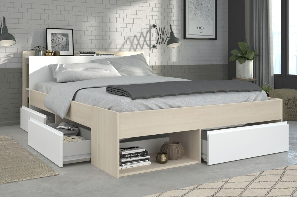 bett 160 x 200 cm most 6 sb m bel discount. Black Bedroom Furniture Sets. Home Design Ideas