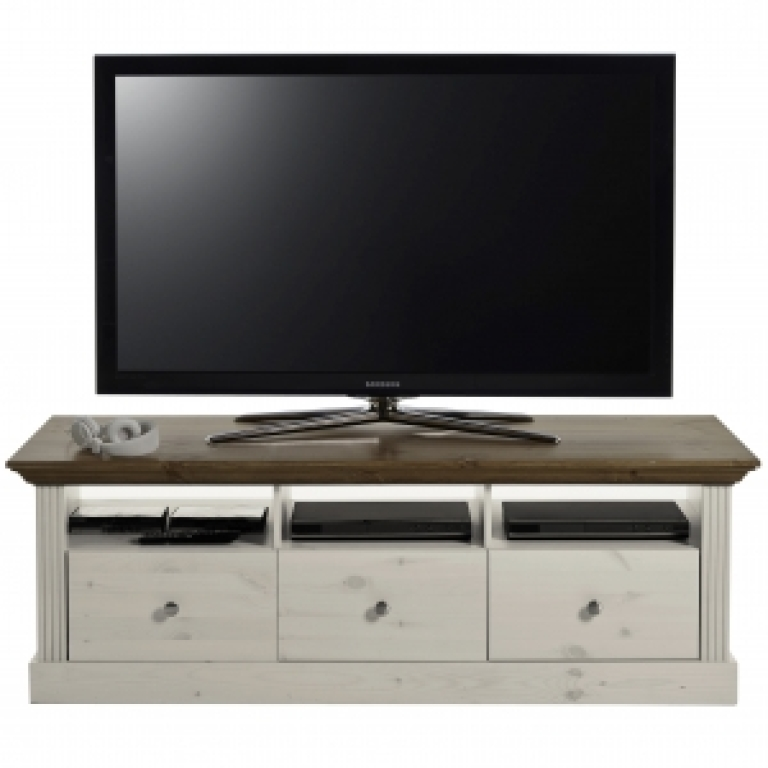 tv tisch monaco 710 150 cm breit landhaus braun. Black Bedroom Furniture Sets. Home Design Ideas