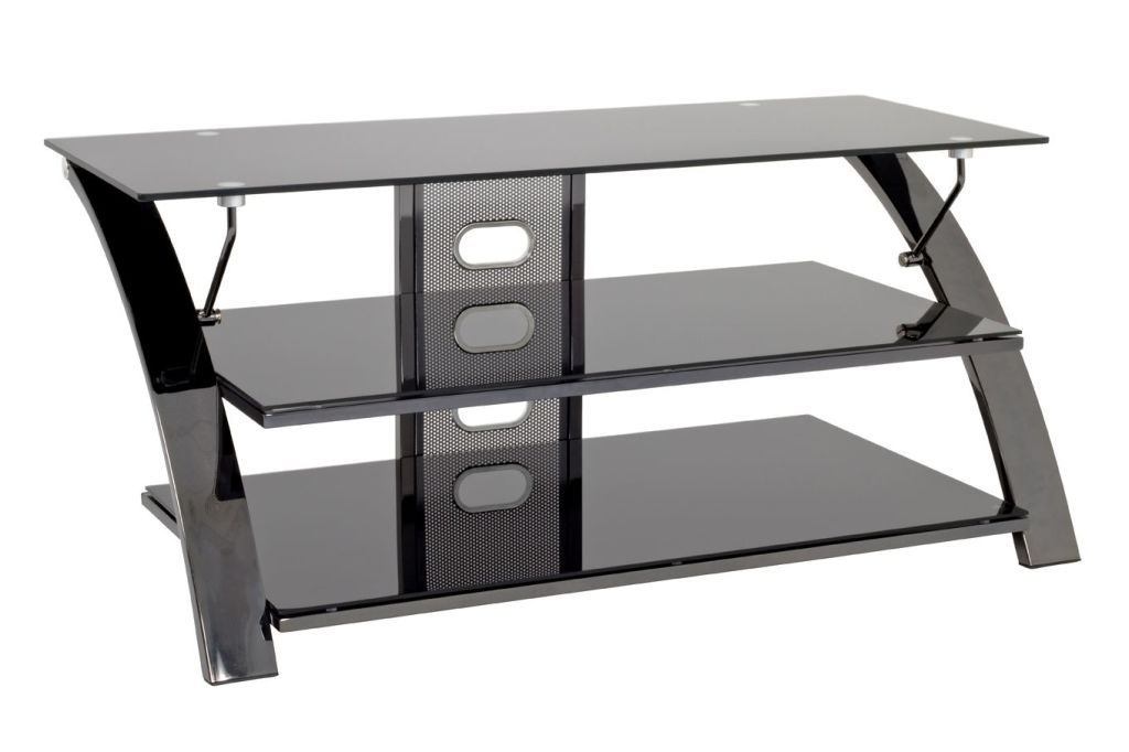 tv rack cinema stahlrohr glas sb m bel discount. Black Bedroom Furniture Sets. Home Design Ideas