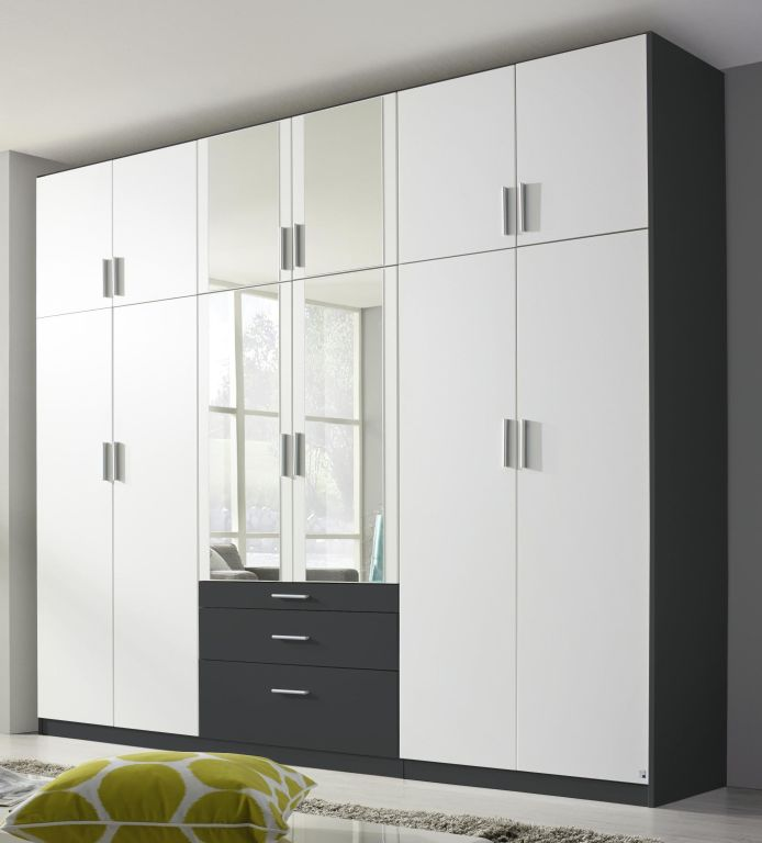 dreht renschrank hildesheim extra alpinwei grau metallic. Black Bedroom Furniture Sets. Home Design Ideas
