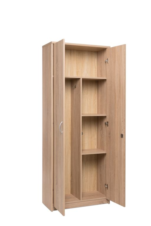 putzschrank kiel 43 sonoma eiche sb m bel discount. Black Bedroom Furniture Sets. Home Design Ideas