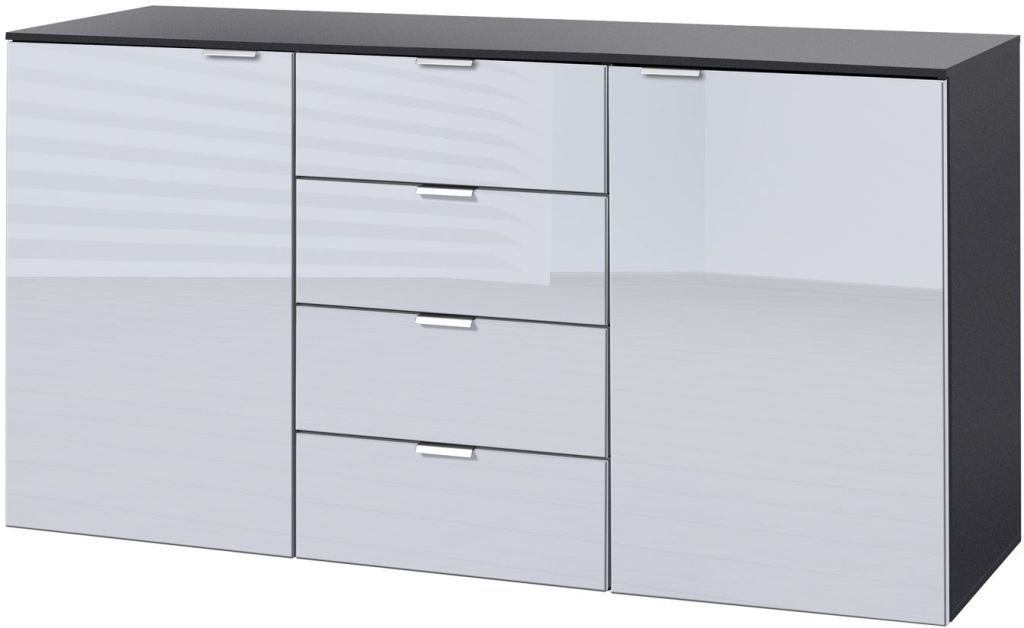 Sideboard 140 Cm Awesome Dupen Sideboard Cm Hgloss White With