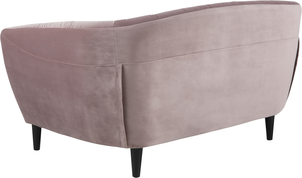 sofa 2 sitzer ria dusty rose 150 cm breit. Black Bedroom Furniture Sets. Home Design Ideas