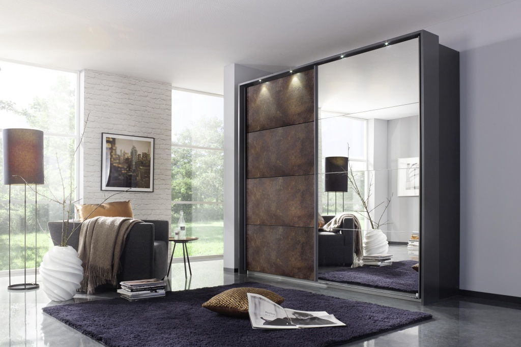 schwebet renschrank meppen 2 t rig rostoptik grau metallic. Black Bedroom Furniture Sets. Home Design Ideas